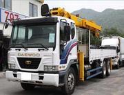 грузовик Daewoo 6x4 .