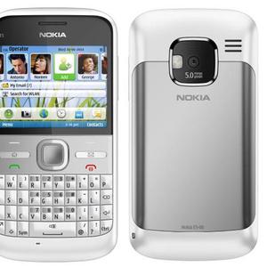 Сотовый телефон  NOKIA E5 Chalk White(смартфон),  оригинальный,  новый,