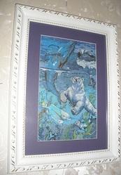продам картины вышитые крестиком. ручная работа